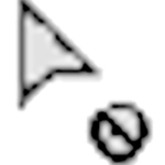 シェイプ形成ツール 禁止マーク